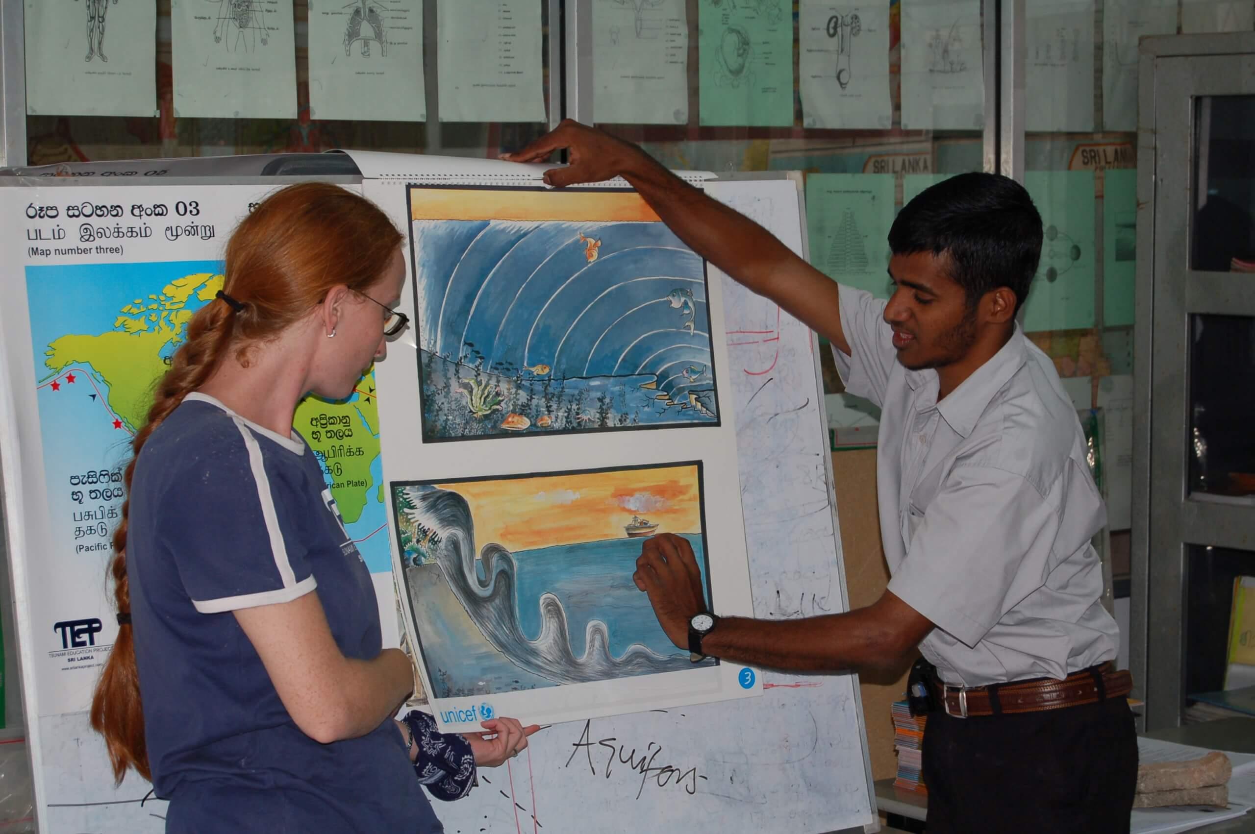 Tsunami Education Project Mitarbeiter