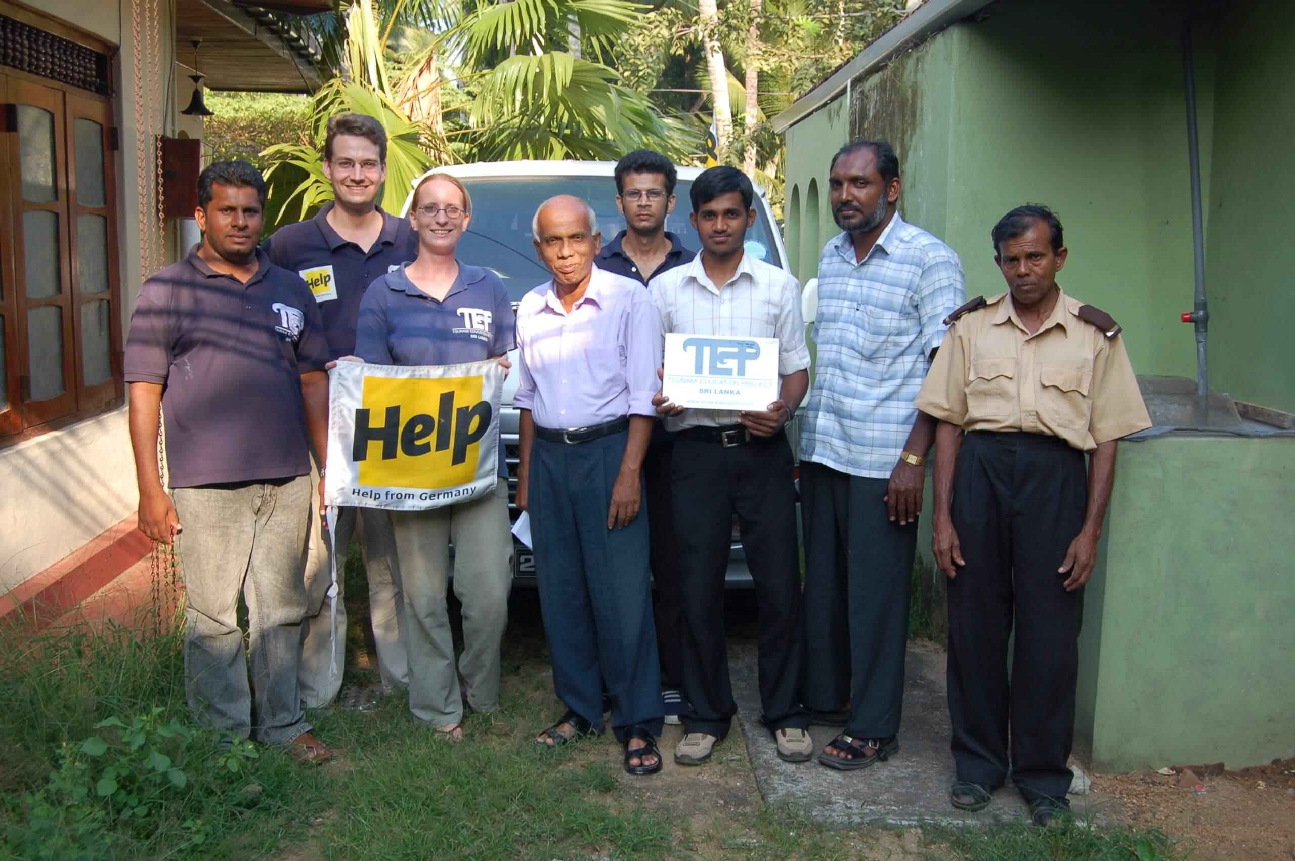Tsunami Education Project Team