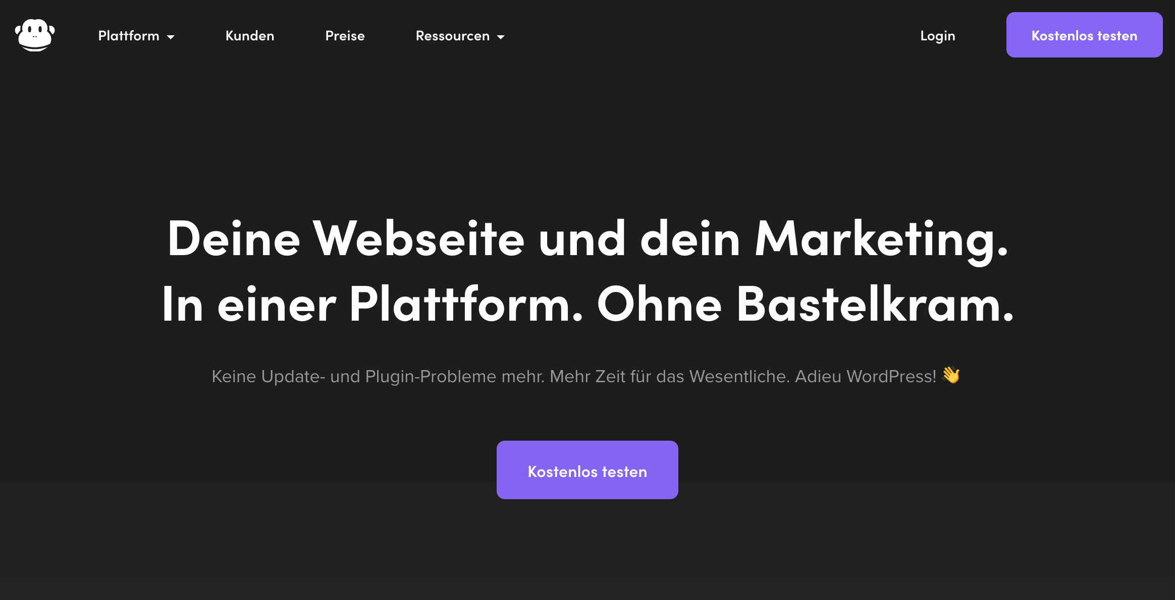 Chimpify Online Marketing Plattform
