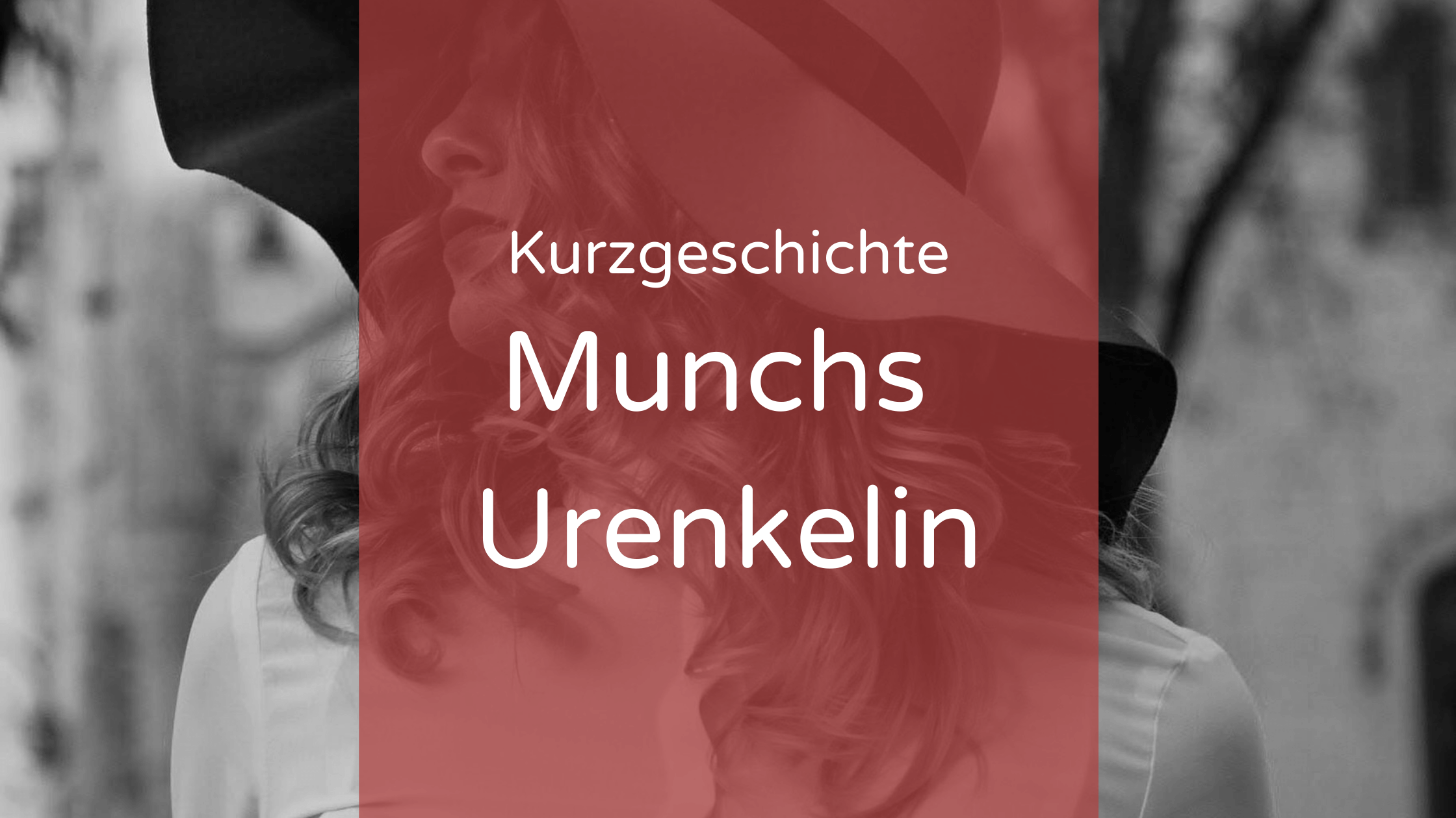 Munchs Urenkelin