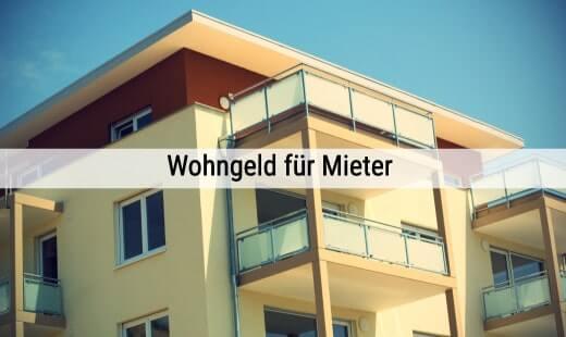 Mietzuschuss - Wohngeld für Mieter