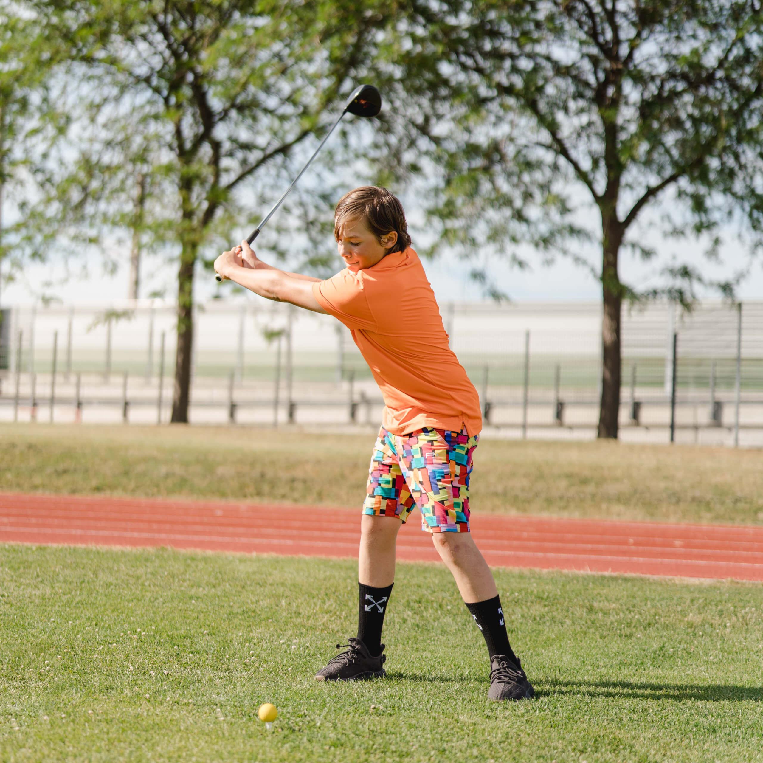 Junior Golf Stefan Dumitrica 1