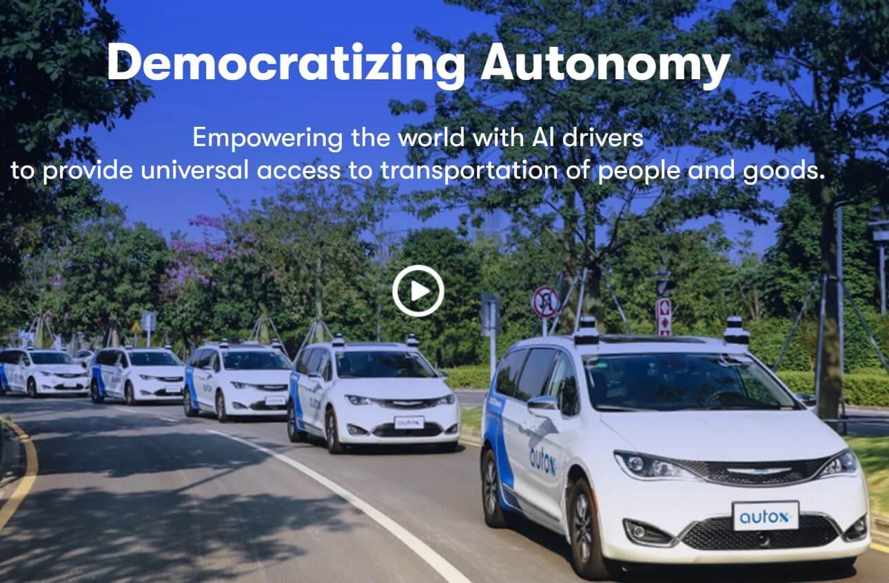 AutoX autonomes TAxi Clip