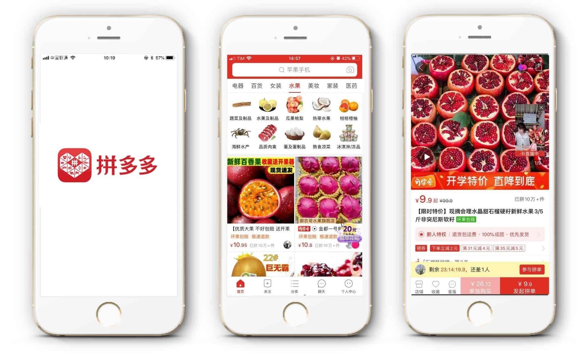 Pinduoduo führt Farm-to-Table Angebot in China ein