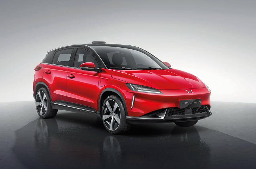 Xpeng G3 Elektroauto China