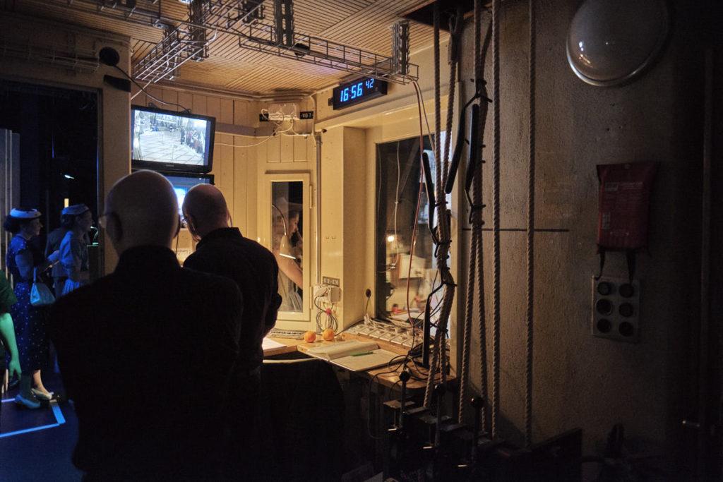 In der Regie hat Regisseur René Egli alles jederzeit im Überblick.