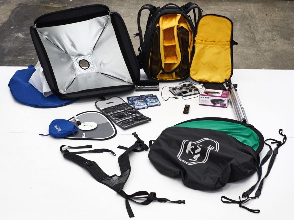 Patrick Stoll Fotografie & Kommunikation verkauft einwandfreie Ausrüstung, die nicht mehr gebraucht wird.