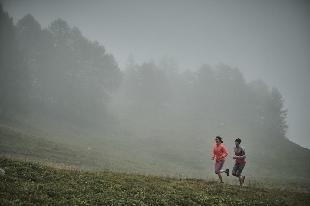 Der Nebel sorgte zwar für eine mystische Stimmung - allerdings wollten wir die nicht zwingend haben...