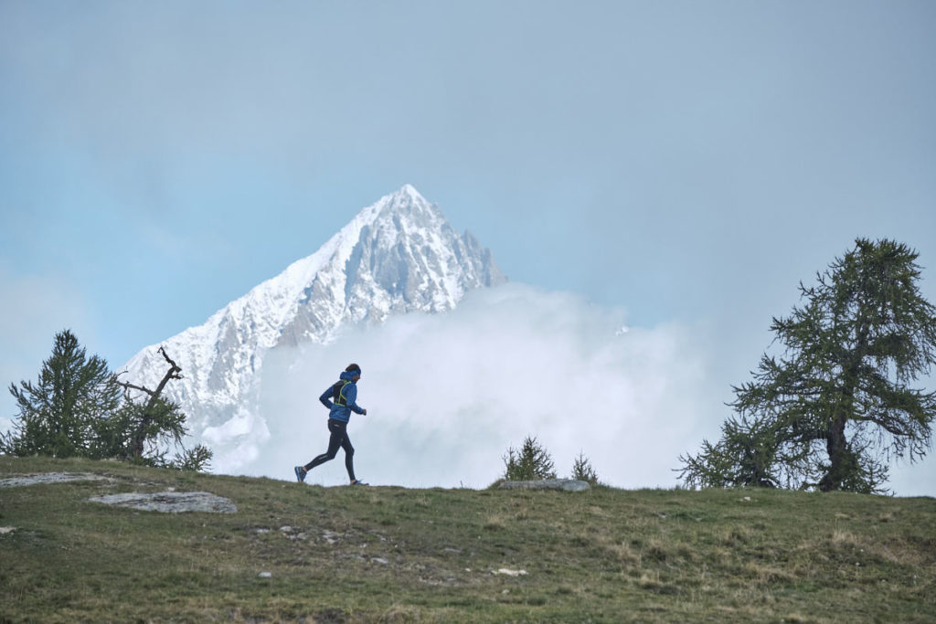 Plötzlich riss der Nebel auf und wir kamen zum ersten Foto des Tages bei relativ schönem Wetter.