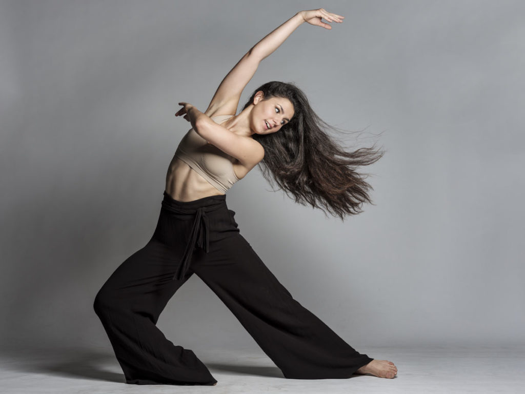Die erste Pose nach der Improvisation: Dank des Speedmodus des Moves von Bron sind auch die einzelnen Haare scharf abgebildet.