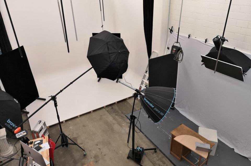 Studioshooting unter Volllast