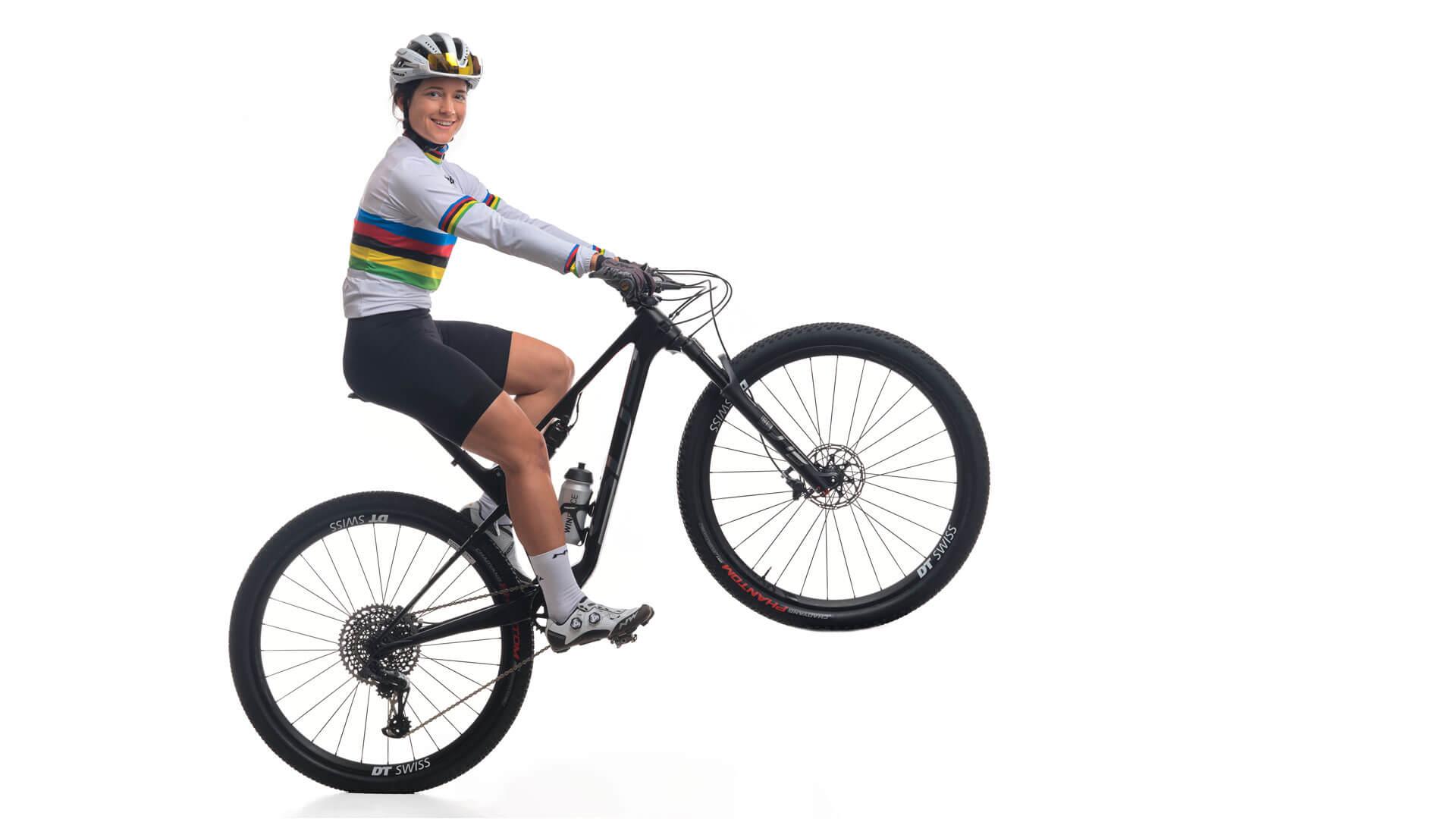Ramona Forchini ist Bike-Marathon Welmeisterin.