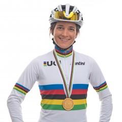 Weltmeisterin Ramona Forchini im Studio