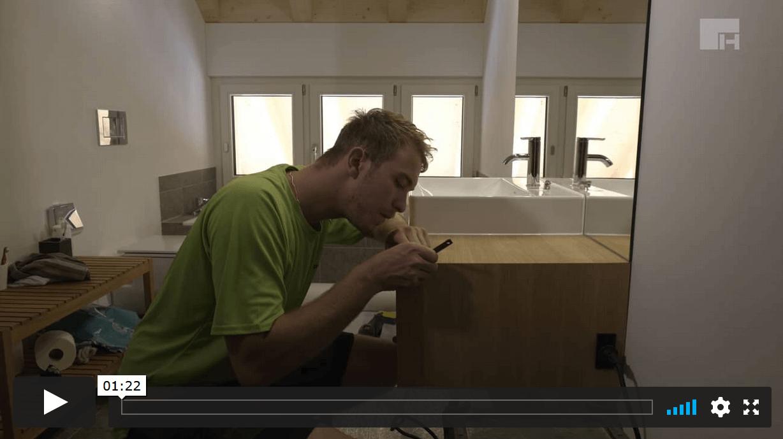 Die Firma Hübscher Holzbau liefert qualitativ hochwertige Arbeit ab.