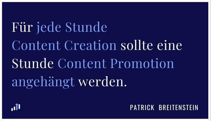 Content Promotion Zitat Patrick Breitenstein