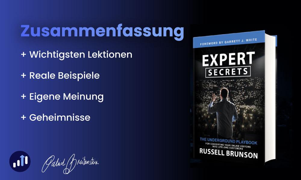 Expert Secrets (Deutsch) von Russel Brunson - Zusammenfassung