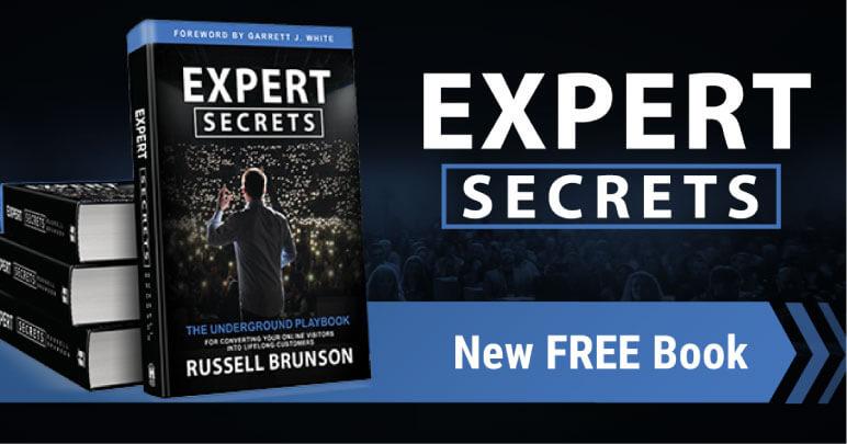 Expert Secrets von Russel Brunson Buch Review