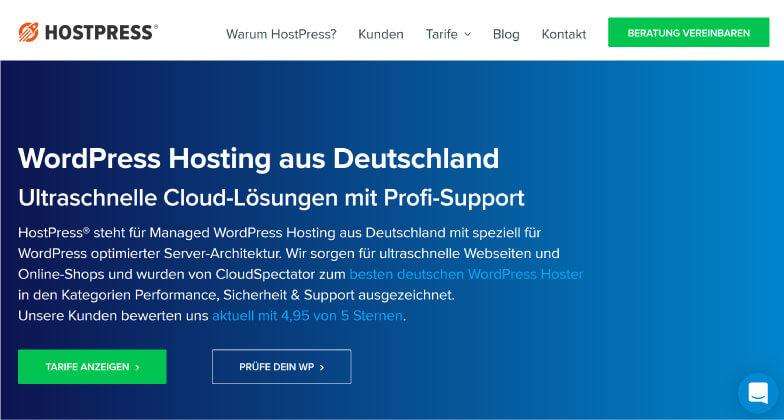 HostPress WordPress Hosting