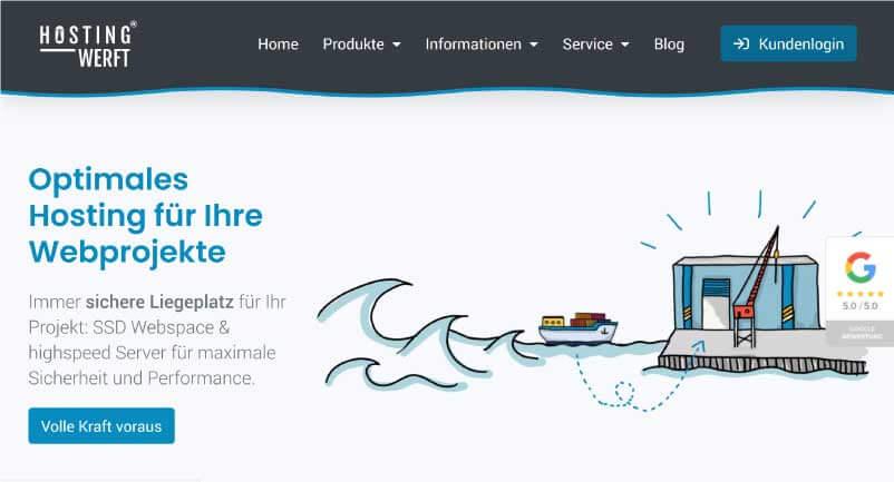 Hosting Werft Webhosting