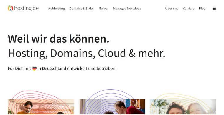 Hosting de Webhosting