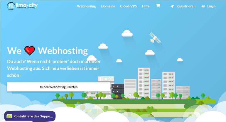 Lima City Webhosting