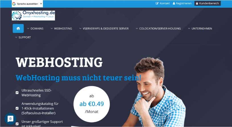 Onyxhosting Webhost