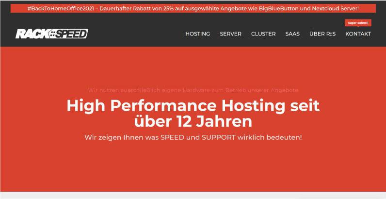 Rackspeed Webhosting