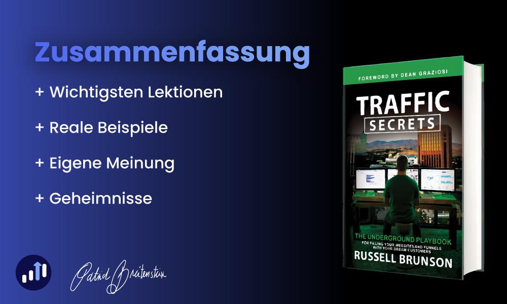Traffic Secrets (Deutsch) von Russel Brunson: Zusammenfassung