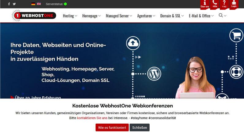Webhost One Webhosting 1