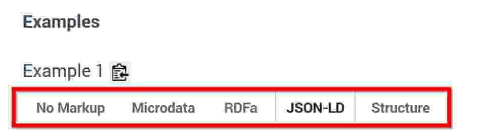 Datentypen von Schema org