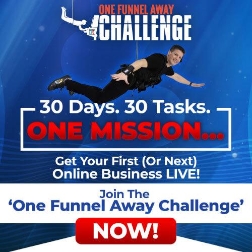 One Funnel Away Challenge von Russel Brunson