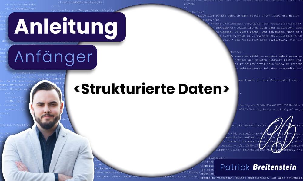 Strukturierte Daten: Einfache Anleitung (Anfänger 2021)