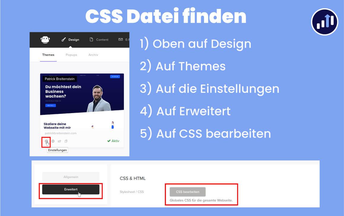 CSS Datei finden 1