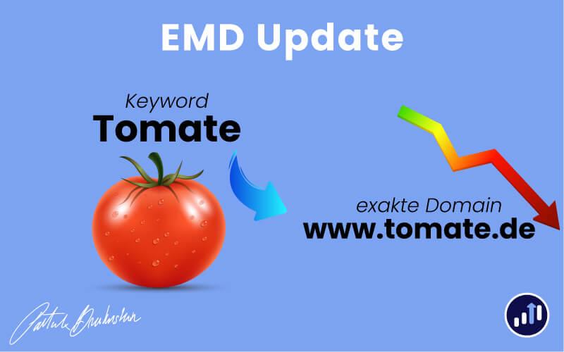 EMD Update bei Google