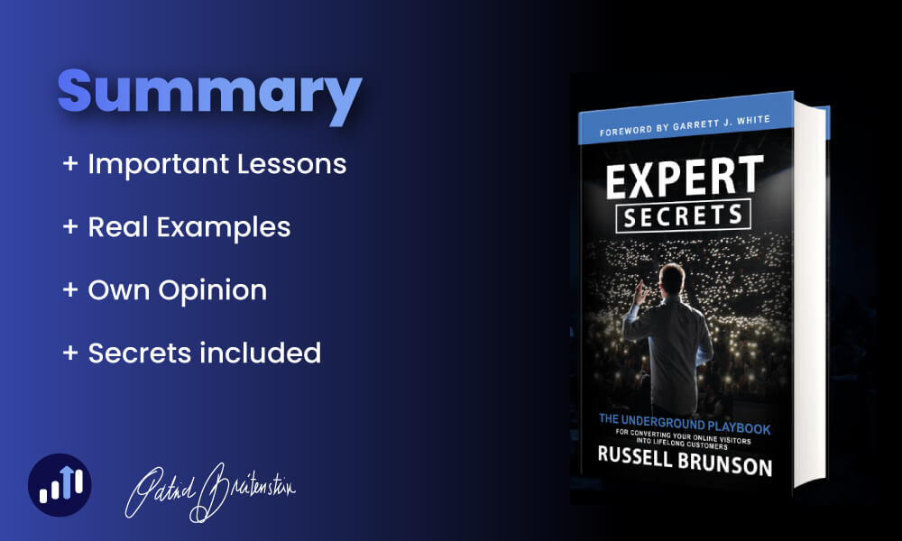 Expert Secrets: Book Summary + Review (Must-Read) by Russel