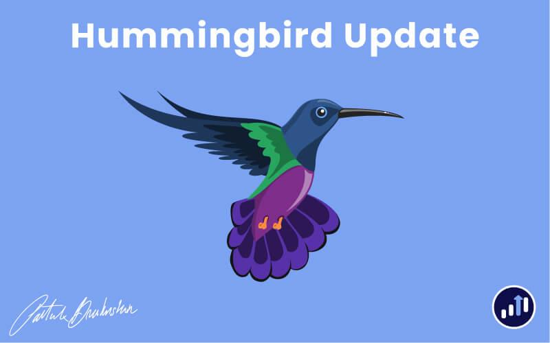 Hummingbird Update von Google
