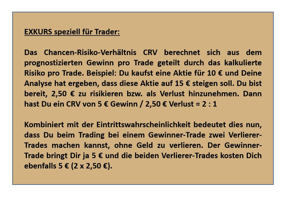 Ist trading glücksspiel Exkurs Trading Chancen Risiko Verhaeltnis Wahrscheinlichkeit Moneten Magier