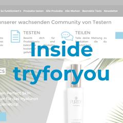 Inside tryforyou: Hinter den Website-Kulissen