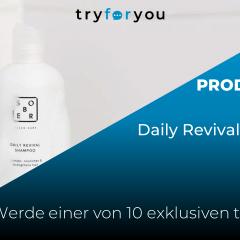 NEUER PRODUKTTEST: Daily Revival Shampoo von sober!