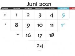 Monatsrückblick Juni 2021