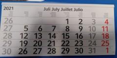 Monatsrückblick Juli 2021