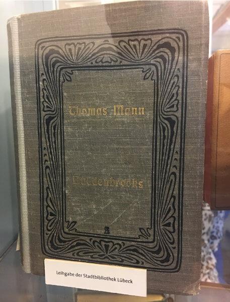 Erstausgabe der Buddenbrooks von Thomas Mann