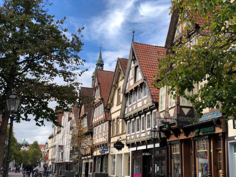 Die Zönnerstraße in Celle