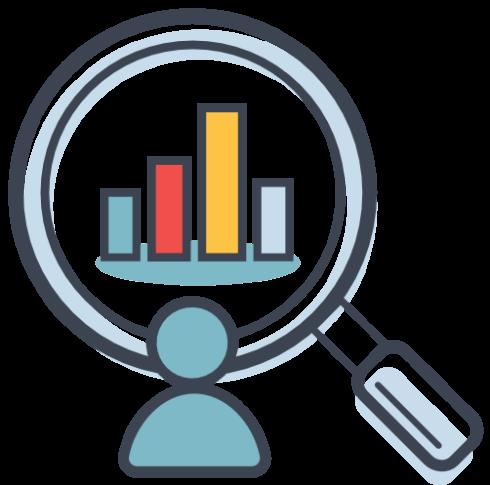 Icon für Konkurrenz-Analyse