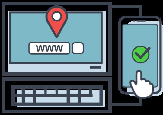 Icon für Website Check