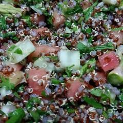 Tabouleh - Ein leckeres, veganes Rezept mit Quinoa