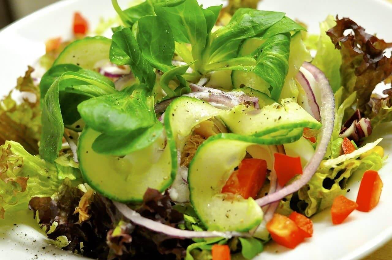 Salat zu Sylter Salatfrische vegan