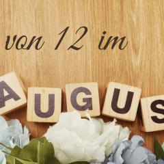 12 von 12 im August - was für ein bunter Tag